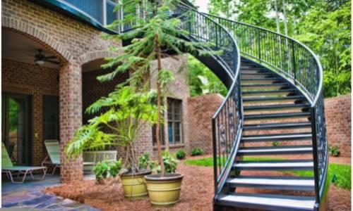 residential stair - winston-salem  nc
